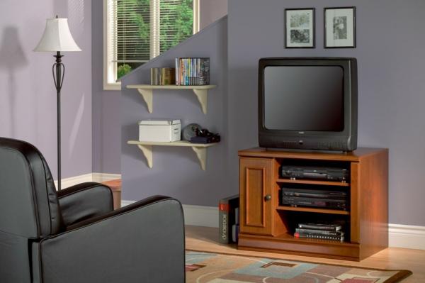 Meuble Tv Avec Rangement Cdiscount : Meuble Tv Vintage – Le Manque De Luxe Est Parfois Le Luxe Même