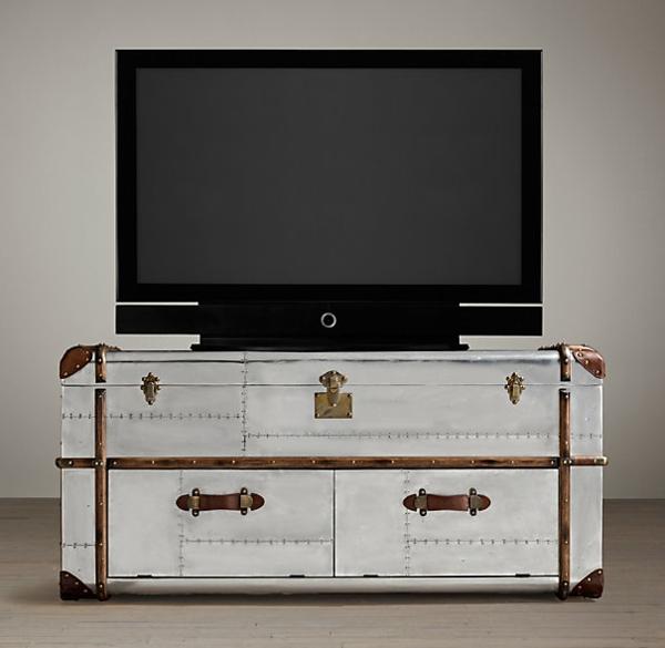 meuble-tv-vintage-buffet-style-américain
