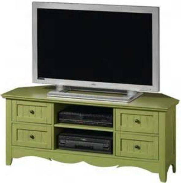 meuble-tv-vintage-en-vert
