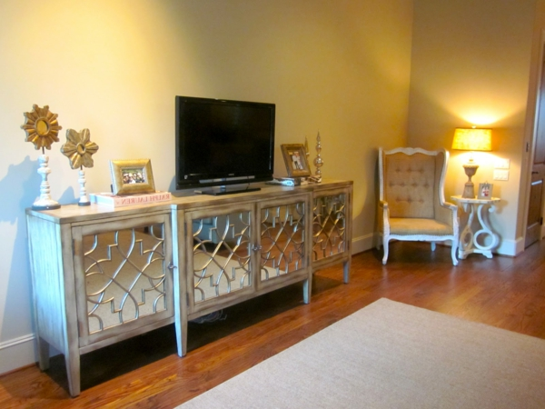 meuble-tv-vintage-intérieur-vintage