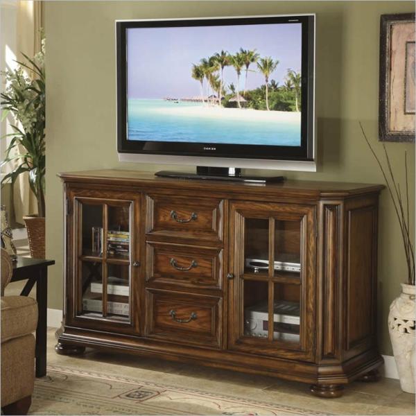 meuble-tv-vintage-meuble-avec-vitrine