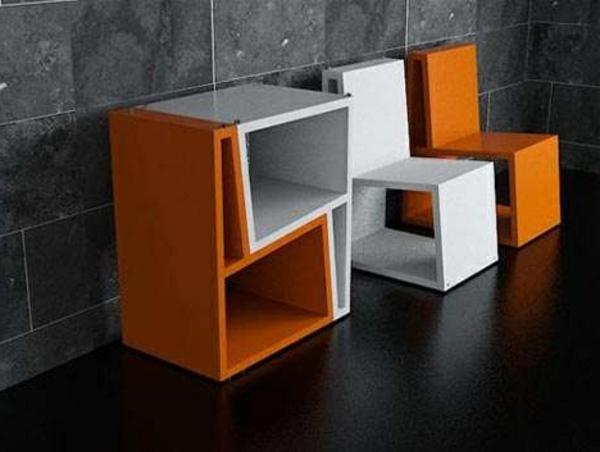 Les meubles modulables for Meuble chaise design soldes
