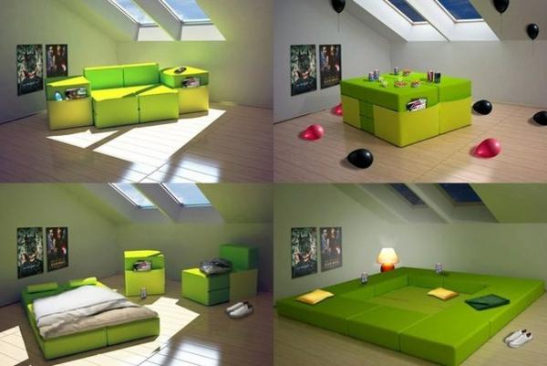 les meubles modulables. Black Bedroom Furniture Sets. Home Design Ideas
