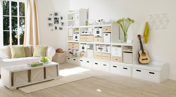 Les meubles modulables for Meuble rangement sejour