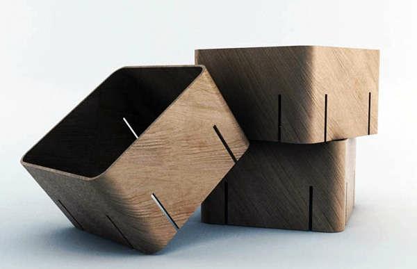Les meubles modulables - Bibliotheque cubes modulables ...