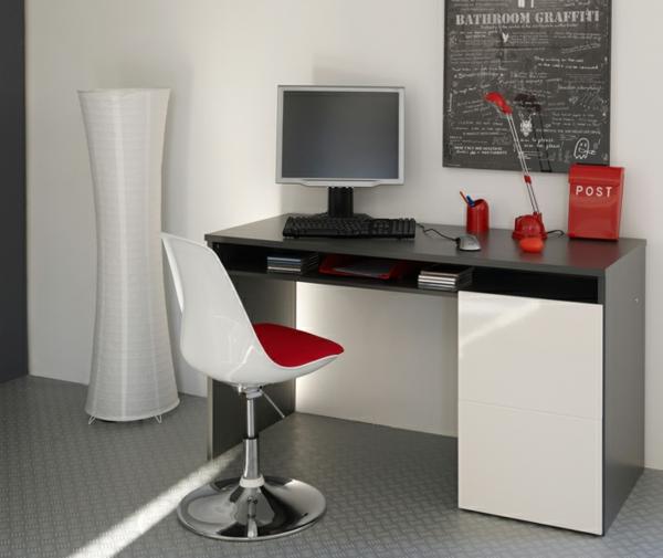 meubles-parisot-un-bureau-en-noir-et-blanc-chaise-blanche