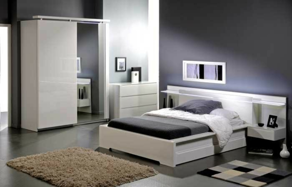 meubles de chambre adulte. Black Bedroom Furniture Sets. Home Design Ideas