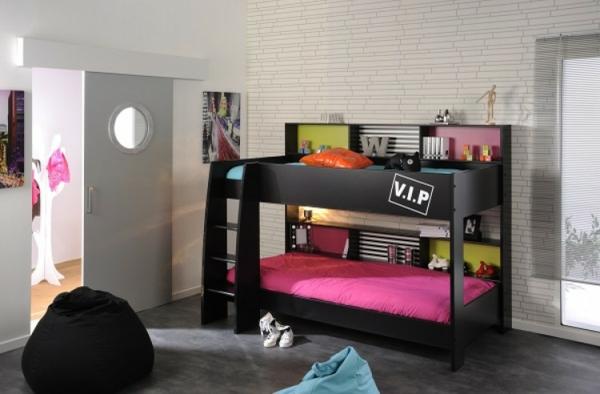 meubles-parisot-lit-noir-design-créatif