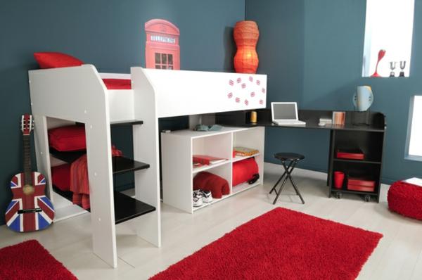 meubles-parisot-lit-blanc-et-bureau-noir