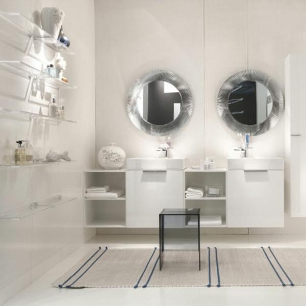 miroir-kartell-deux-miroirs-ronds-de-salle-de-bains