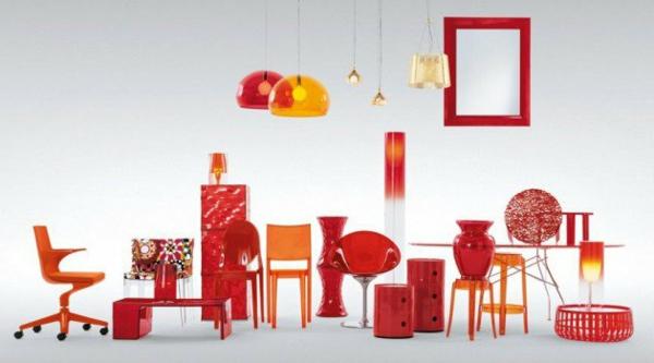 miroir-kartell-mobilier-en-couleur-rouge