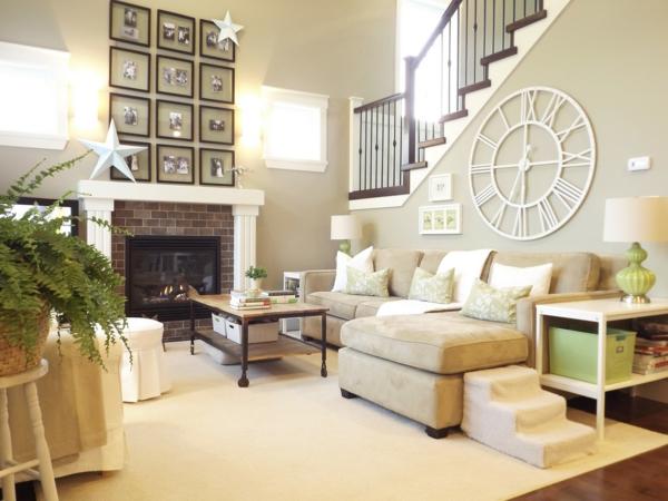 moderne-décoration-de-salle-de-séjour