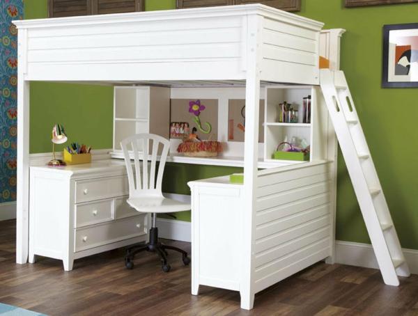 naturel-design-pour-le-lit-mezzanine-en-blanc-vintage