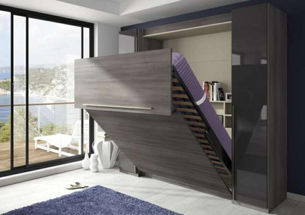Häufig L' armoire lit escamotable pour plus d'espace - Archzine.fr XI38