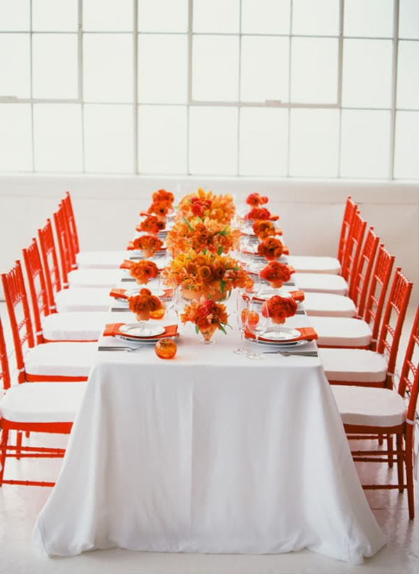 orange-ecoration-floral-de-mariage