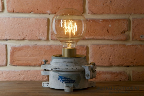 lampe decorée