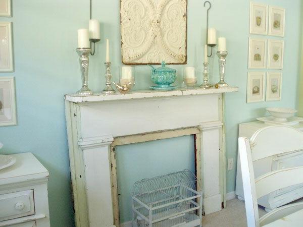 pastel-ouleur-pour-la-fausse-cheminée-décorative