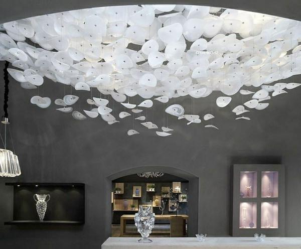 plafonnier avec design moderne en blanc Résultat Supérieur 15 Luxe Plafonnier Moderne Design Photos 2017 Iqt4