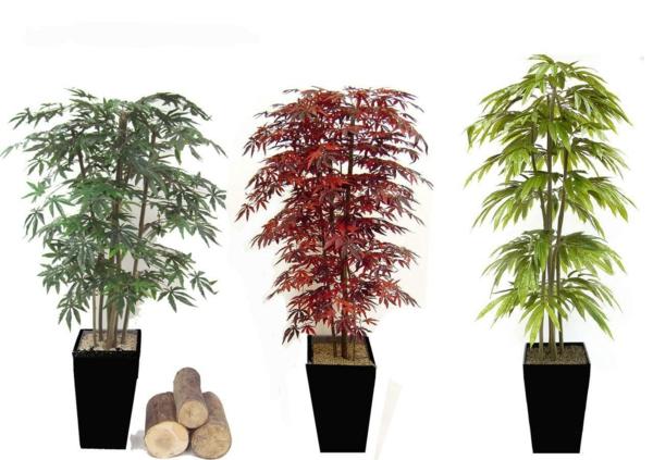 La d co avec des plantes artificielles va relooker vos for Arbre artificielle
