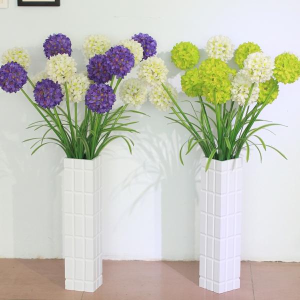plantes-artificielles-en-vert-et-lilas