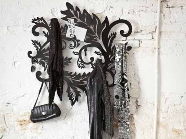 Le porte manteau arbre ajoute une touche d co votre - Comment fabriquer un porte manteau mural ...