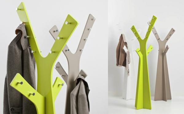 porte-manteau-arbre-vestiare-vert-et-gris
