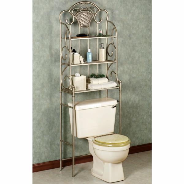 porte-serviette-de-salle-de-bain-étagères
