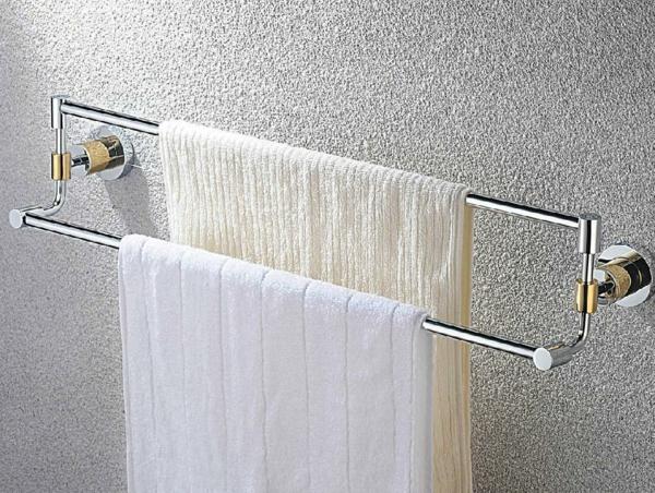 le porte serviette de salle de bain. Black Bedroom Furniture Sets. Home Design Ideas