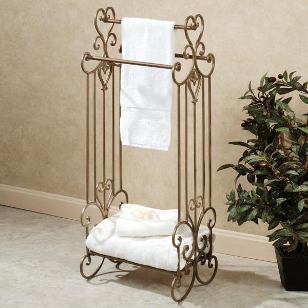 porte-serviette-de-salle-de-bain-en-fer