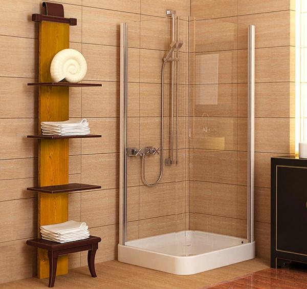 porte-serviette-de-salle-de-bain-et-cabine-de-douche-intégrale