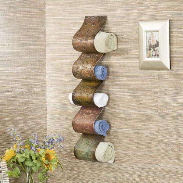 porte-serviette-de-salle-de-bain-modèle-unique