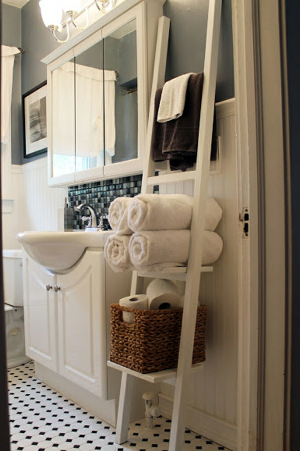 Le porte serviette de salle de bain - Porte vitree salle de bain ...