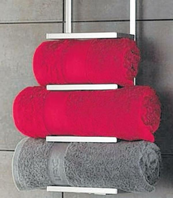 porte-serviette-de-salle-de-bain-porte-serviette-échelle-murale