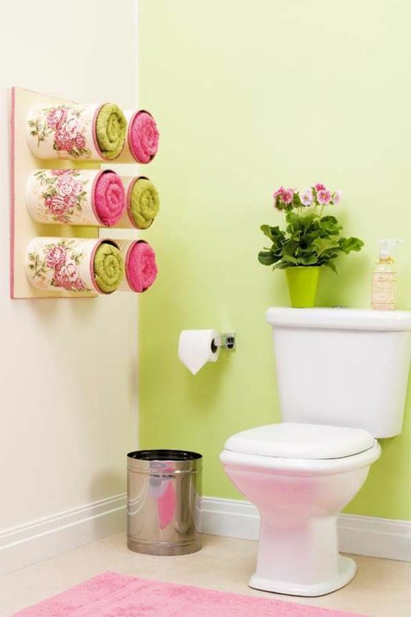 porte-serviette-de-salle-de-bain-rangement-créatif