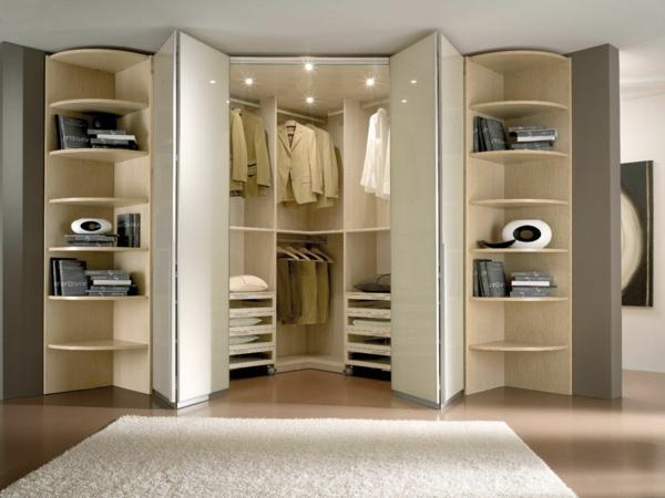 Les portes de placard pliantes pour un rangement joli et - Rangement interieur placard ...