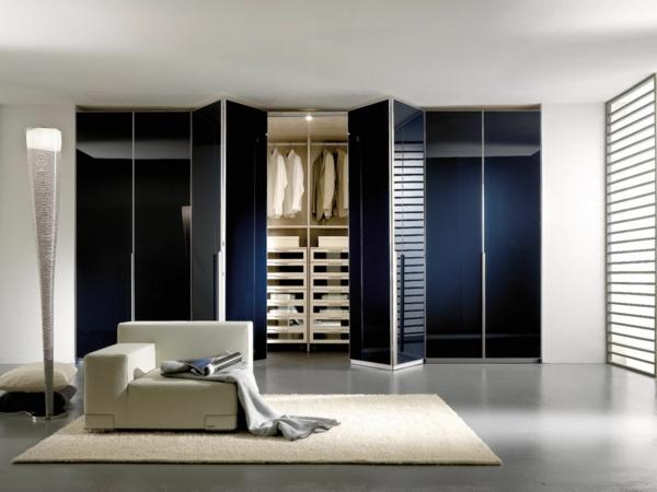 portes-de-placard-pliantes-armoire-bleue-magnifique