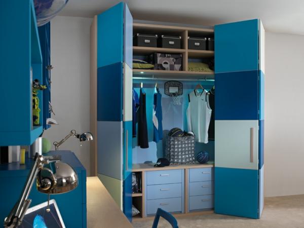 portes-de-placard-pliantes-armoire-dressing-bleu