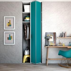 Les portes de placard pliantes pour un rangement joli et moderne