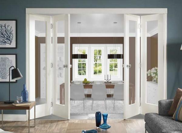 Les portes int rieures vitr es laissons les int rieurs for Porte interieur bois vitree