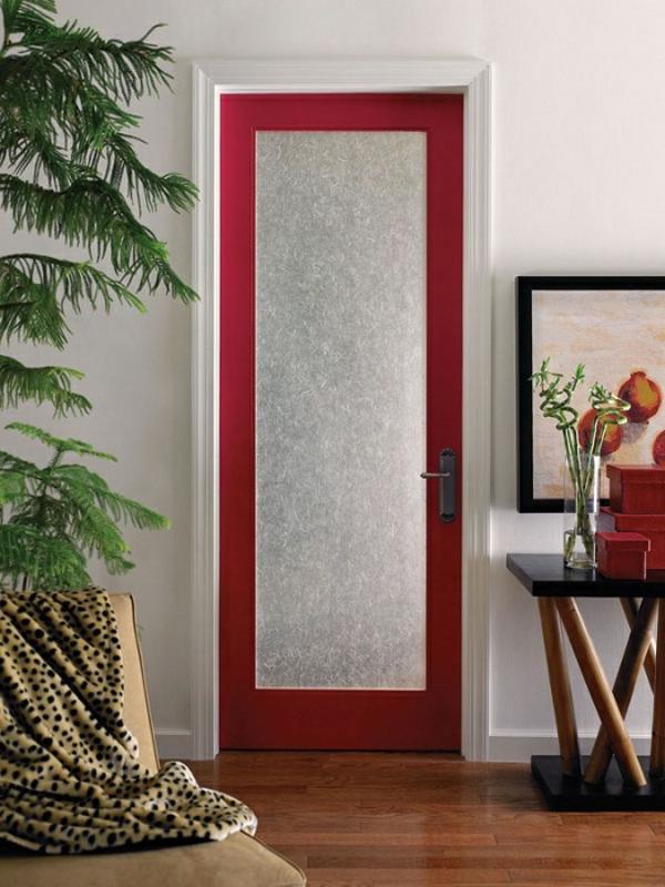 portes-intérieures-vitrées-ebcadrement-rouge