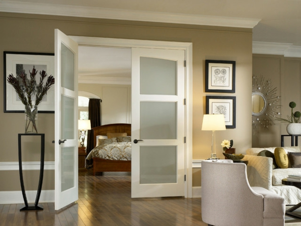 les portes int rieures vitr es laissons les int rieurs respirer. Black Bedroom Furniture Sets. Home Design Ideas