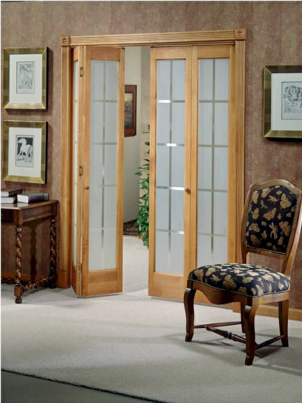 Les portes int rieures vitr es laissons les int rieurs for Porte de separation pliante