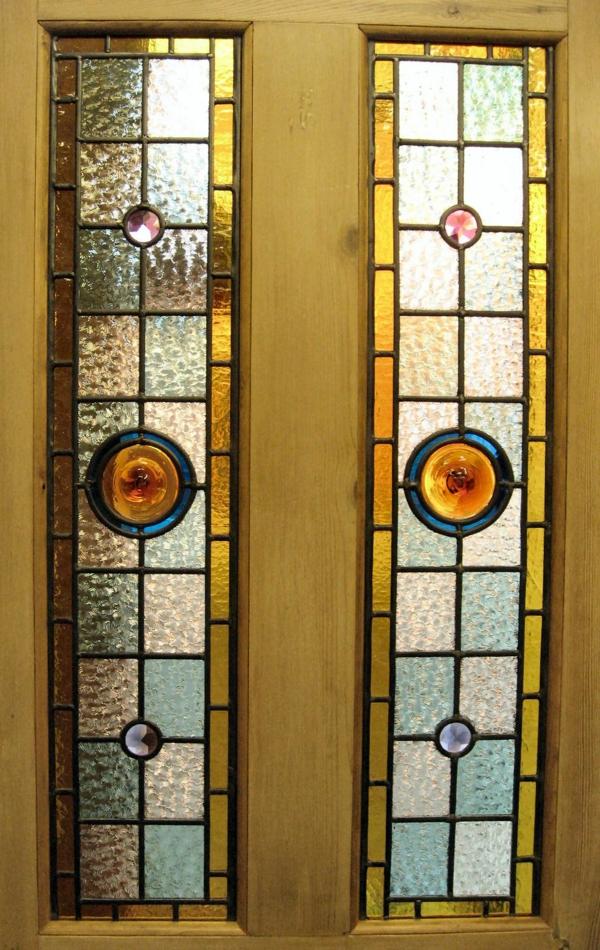 portes-intérieures-vitrées-porte-magnifique-verre-vitrail