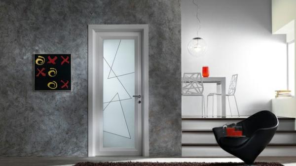 portes-intérieures-vitrées-une-porte-vitrée-et-un-intérieur-gris