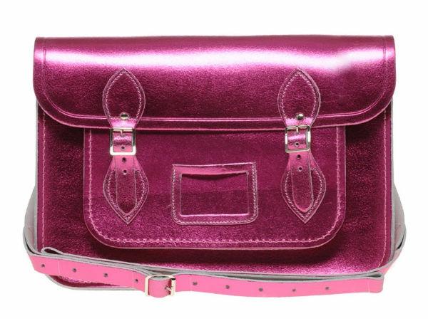 sac-cartable-en-rose-métallique