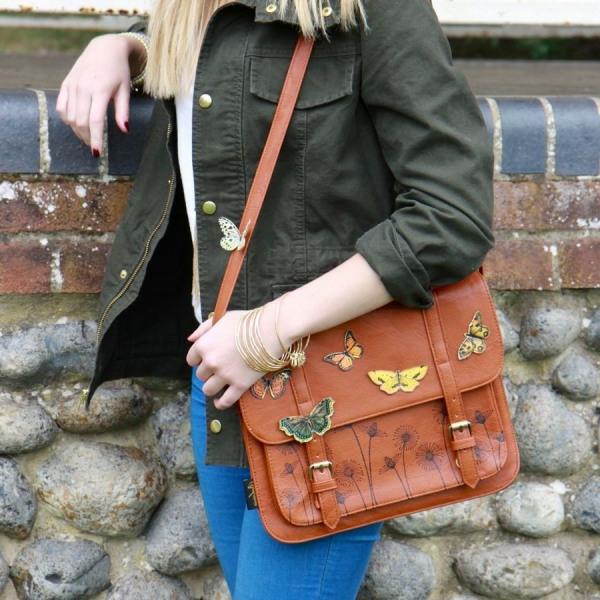 sac-cartable-marron-décoré