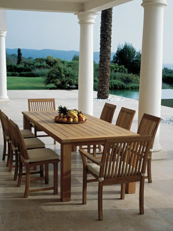 salon-de-jardin-en-teck-mobilier-d'extérieur-traditionnel