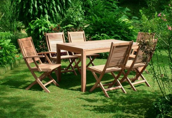 Le salon de jardin en teck est l 39 am nagement joli et durable pour vos ext rieurs - Salon de jardin en teck pliable ...