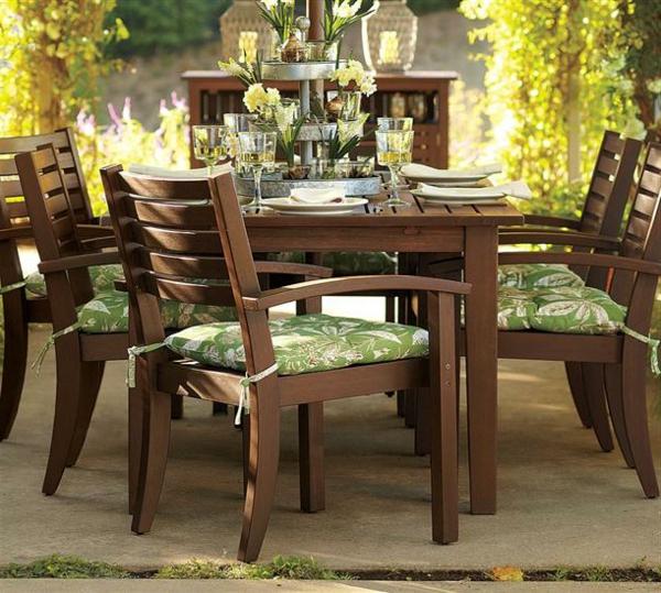 Entretien d une table de jardin en teck for Entretien meuble en teck