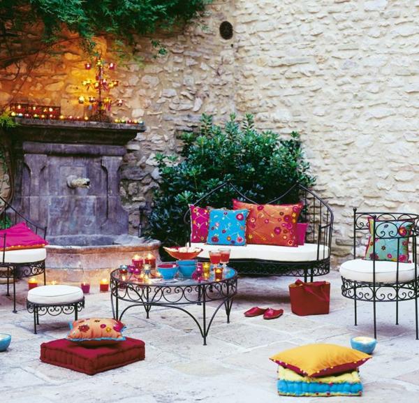Salon De Jardin Fer Forge Pas Cher  Maison Design  BahbeCom